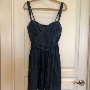 NWT Abercrombie & Fitch denim dress